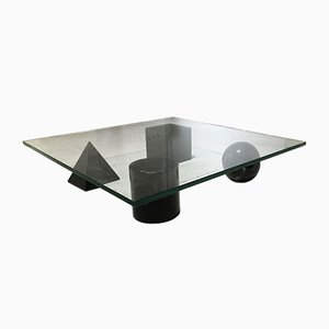 Vintage Italian Metaphora Coffee Table by Massimo and Lella Vignelli, 1980s
