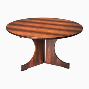 Rosewood Pamplona Dining Table by Augusto Savini for Pozzi, 1960s