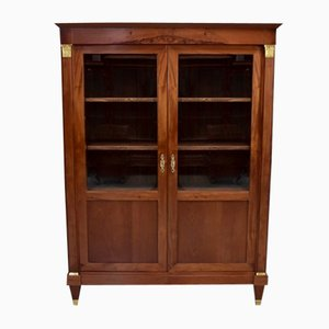 Antique Directoire Style Mahogany Cabinet