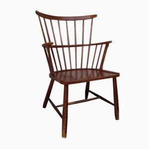 Skandinavischer Mid-Century Windsor Stuhl von Ove Boldt für Fritz Hansen, 1960er