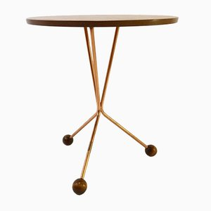 Mid-Century Atomic Side Table by Albert Larsson for Alberts Tibro, 1950s