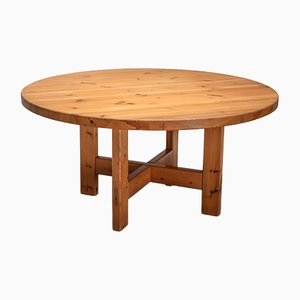 Swedish Solid Pine Dining Table from Karl Andersson & Söner, 1960s