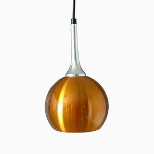 Vintage Anodized Aluminum Ceiling Lamp