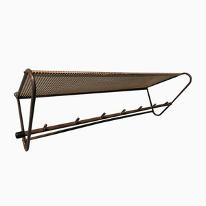 Mid-Century Perforated Metal Coat Rack by Mathieu Matégot, 1950s