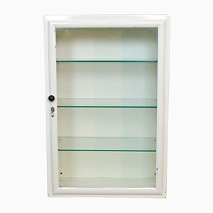 Dutch White Medicine Cabinet from Oostwoud Fabrieken Franeker, 1950s