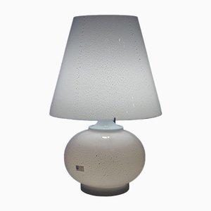 Lámpara de mesa de cristal de Murano de Cenedese, años 70