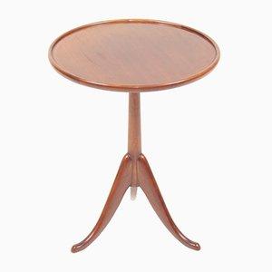 Mid-Century Danish Mahogany Side Table from Lysberg Hansen & Terp, 1950s