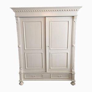 Armoire Blanche Antique