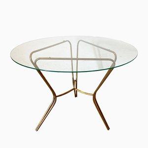 Mid-Century Brass Coffee Table, 1950s