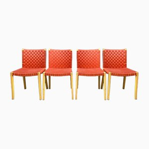 Nr. 757 Dining Chairs by Peter Maly for Thonet, 1980s, Set of 4