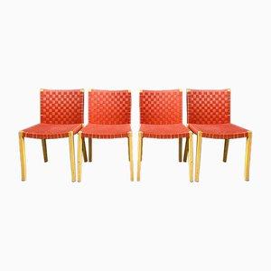 Nr. 757 Esszimmerstühle von Peter Maly für Thonet, 1980er, 4er Set