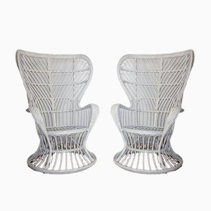Italian Armchairs in the Style of Gio Ponti & Lio Carminati, 1950s, Set of 2