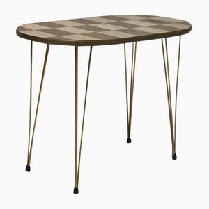 Mid-Century Bicolor Formica Folding Coffee Table