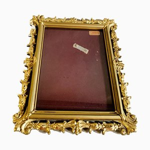 Mid-Century Queen Anne Style Giltwood Portrait Frame