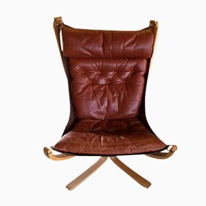 Falcon Chair by Sigurd Ressell for Vatne Møbler, 1970s