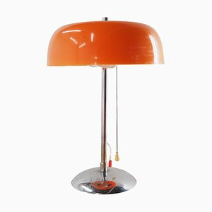 Mid-Century Chrome and Plastic Table Lamp from Pneumont, Germany, 1960s