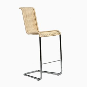 Bauhaus Braided B30 Cantilever Barstool from Tecta, 2000s