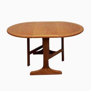 Mid-Century Danish Teak Drop-Leaf Coffee Table