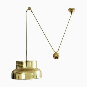 Lampe à Suspension à Contrepoids par Anders Pehrson pour Ateljé Lyktan, 1960s