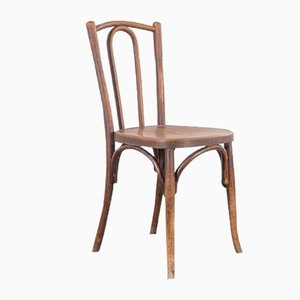 Bentwood Bistro Dining Chairs from Baumann, 1920s, Set of 6