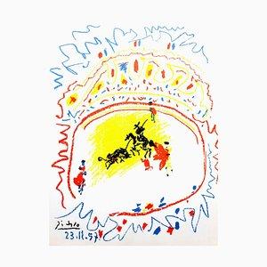 Lithographie La Petite Corrida par Pablo Picasso, 1958