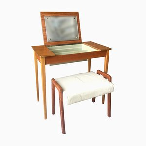 Swedish Teak Dressing Table, 1960s