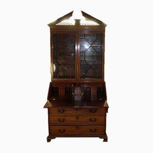 Tall Mahogany Bureau Bookcase, 1780s