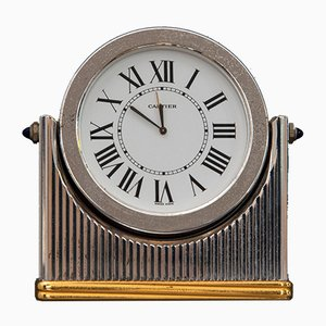 Vintage Table Clock from Cartier, 1970s