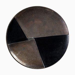 Milieu de Table Mid-Century en Bronze par Esa Fedrigolli pour Esart, Italie