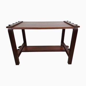 Brazilian Solid Rosewood Coffee Table, 1960s