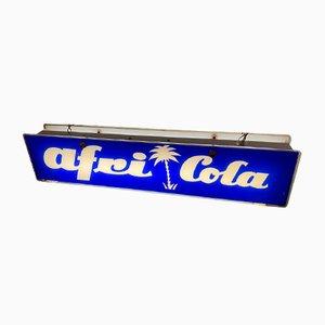 Señal publicitaria de Afri Cola, años 50