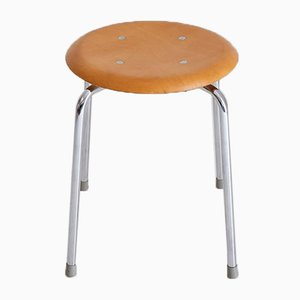 Vintage German Model SE 38 Stacking Stool by Egon Eiermann for Wilde+Spieth, 1950s