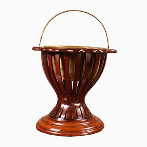 19th Century English Mahogany Wine Cooler
