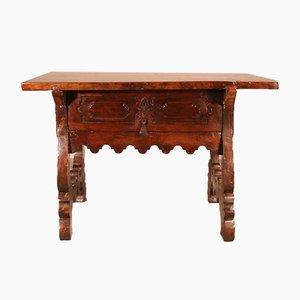 17th Century Spanish Walnut Console Table