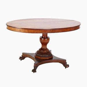 Antique Mahogany Dining Table, 1880s