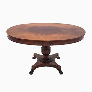 Antique Biedermeier Dining Table, 1850s