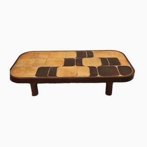 Vintage Model Shogun Coffee Table by Roger Capron, 1960s