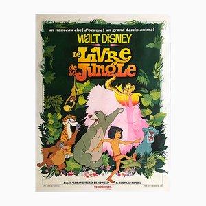Poster del film Grande giungla di Disney, Francia, 1967