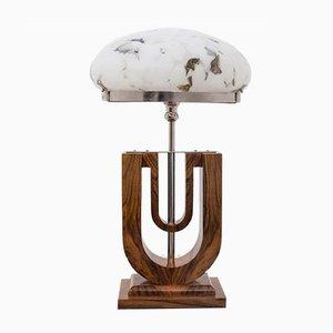 Lámpara de mesa estilo Art Déco, años 90