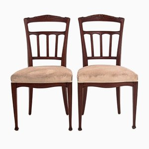 Side Chairs, 1940s, Set of 2