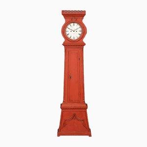 Reloj de caja alta antiguo de Bornholm, década de 1870