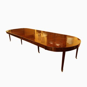 Antique Louis XVI Mahogany Dining Table
