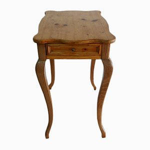 Antique Biedermeier German Sewing Box Table, 1900s