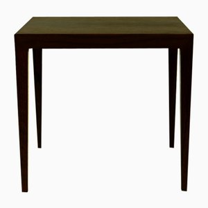Table d'Appoint Moderne en Palissandre par Severin Hansen pour Haslev Møbelsnedkeri, Danemark, 1960s