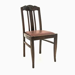 Antique Dining Chairs, 1910s, Set of 6