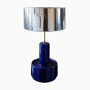 Mid-Century Keramik Tisch- oder Stehlampe von Dijkstra Lampen