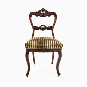 Antique Rococo Style Scandinavian Side Chair, 1880s