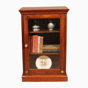 Small 19th Century Mahogany Display Cabinet