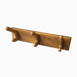 Mid-Century Oak Coat Rack from Fraber