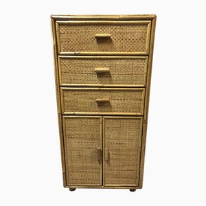 Rattan Chests of Drawers, 1960s